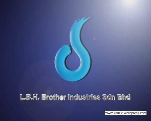 3d Artist Logos. LBH 3d Flying Logo